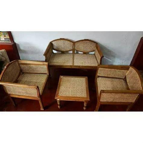 Sofa Set Designs Price Kerala by Classic Teak Wood Sofa Set With Weaving Kerala