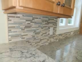glass kitchen tile backsplash construction