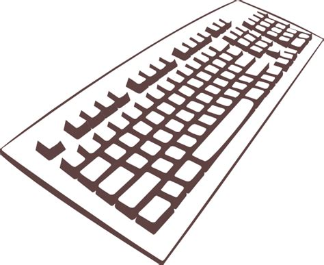 Keyboard Clip Art At Clker.com