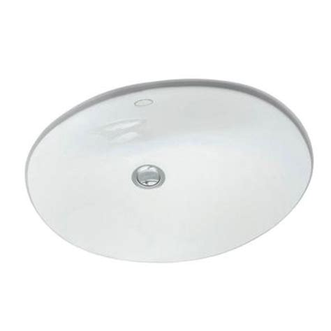 Kohler Caxton Sink Home Depot by Kohler Caxton Vitreous China Bathroom Sink With Overflow