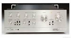 Pioneer Sa-9800 - Manual