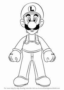 Learn How to Draw Luigi from Super Mario (Super Mario ...