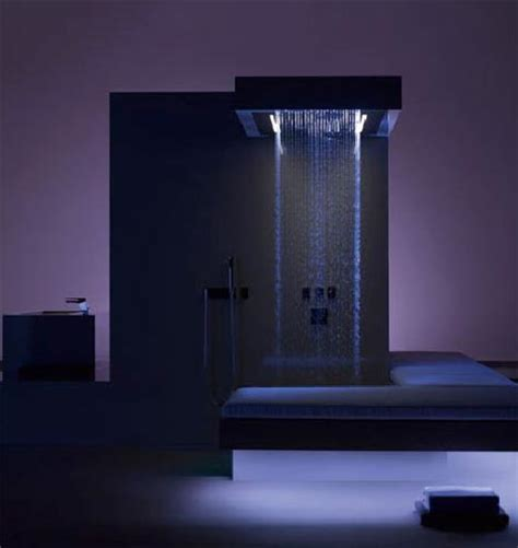 ultra luxurious high volume modern shower design