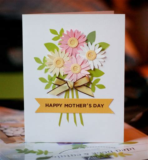 beautiful handmade mothers day crafts card ideas