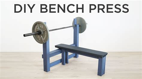 Bench Press At Home by Diy Bench Press How To Make A Weight Bench
