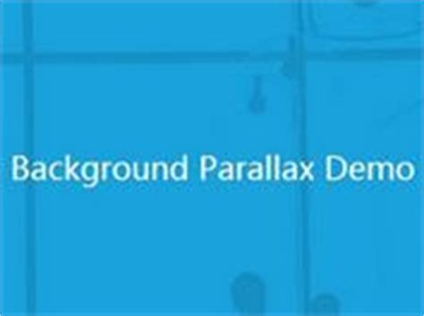 Horizontalvertical Parallax Scrolling Effects In Jquery