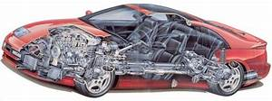 Z32 Nissan 300zx Cutaway