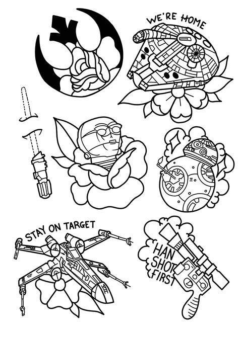 Pin by Joshua Thomas on tattoos | Drawing stars, Star wars tattoo, Star wars painting