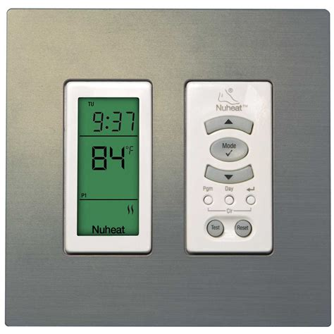Warm Tiles Thermostat by Nuheat Harmony Floor Heating Programmable Thermostat