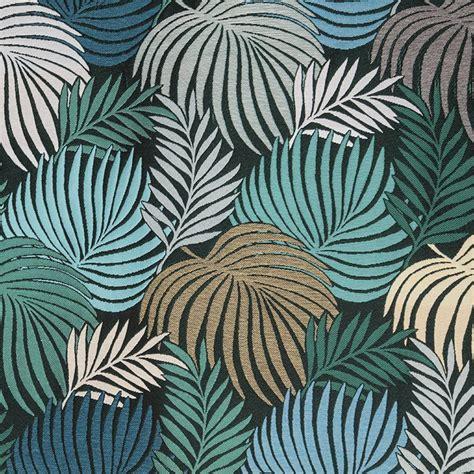 Tissu Tapisserie by Tissu Tapisserie Palmiers Vert