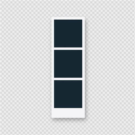 cornice  foto polaroid tripla scaricare vettori gratis