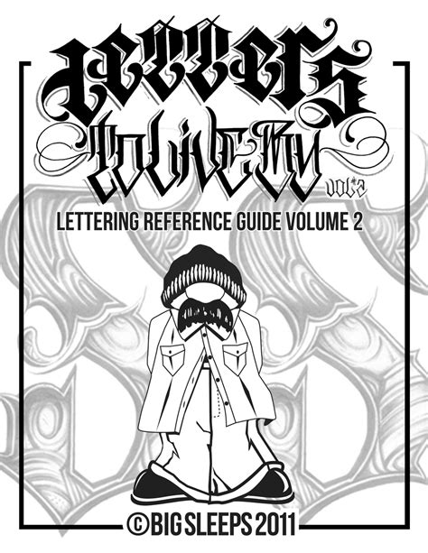 LETTERS TO LIVE BY VOLUME #2 Tattoo Script Lettering