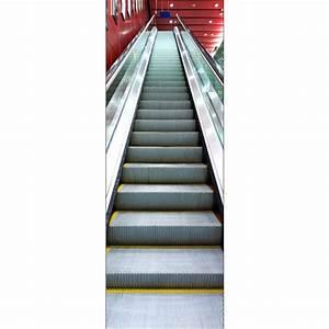 Papier Peint Sticker : papier peint porte d co escalator art d co stickers ~ Premium-room.com Idées de Décoration
