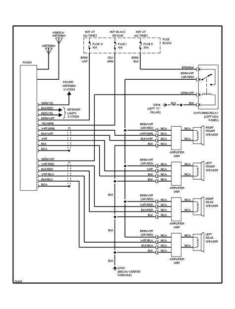 2001 Nissan Radio Wiring Harnes Diagram by 1992 Maxima Bose Stereo Had 16 Wires Diagrams Only