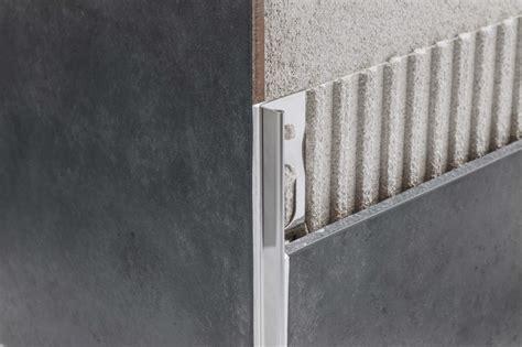 piastrelle acciaio proangle ai acciaio inox jolly terminale per rivestimenti