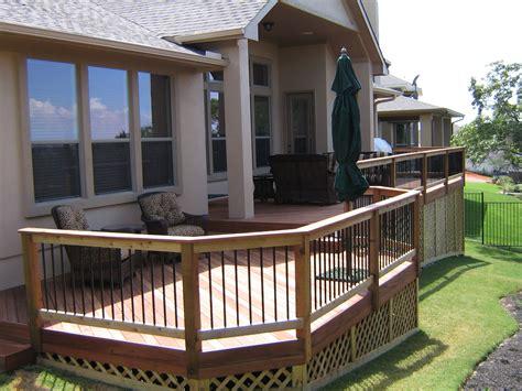 deck skirting   slope npnurseries home design