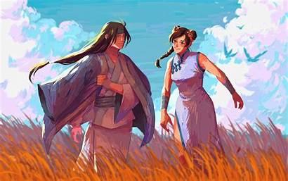 Neji Tenten Naruto Hyuga Wallpapers Characters Samurai