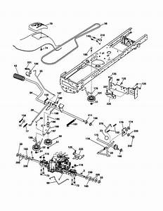 Drive Diagram  U0026 Parts List For Model Yth2042 Husqvarna