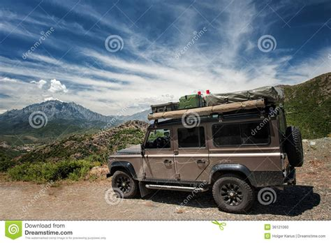 expedition vehicle stock photo image