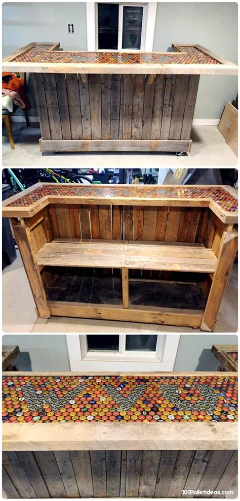 loved pallet bar ideas projects