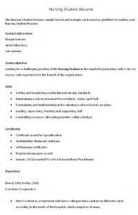 resume exles for objectives for students مجموعة زمان للخدمات الغذائية resume objective exles nursing student