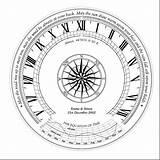 Sundial Sundials Drawing Getdrawings sketch template