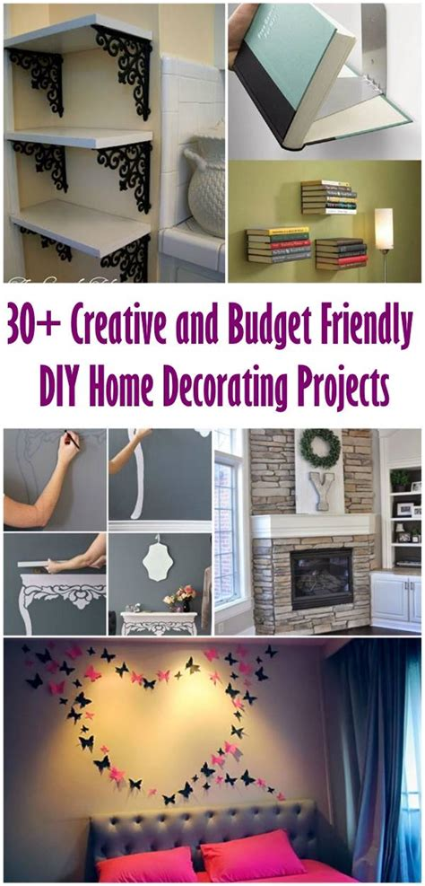 30+ Creative And Budget Friendly Diy Home Decorating