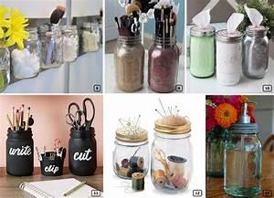 Bocaux En Verre Pour Conserves : 15 diy originaux avec des bocaux en verre bnbstaging le blog ~ Nature-et-papiers.com Idées de Décoration