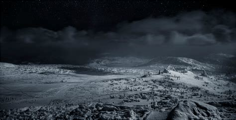 Siberia, Winter, Landscape, Dark, Nature Wallpapers Hd