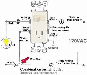 Home Wiring Diagrams Switch Outlet  How To Wire Switches