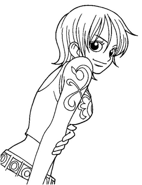 anime  piece coloring page coloring sky