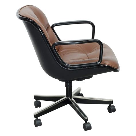 knoll pollock chair used knoll pollock executive leather used swivel chair