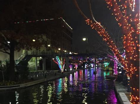bricktown canal lights oklahoma city ok