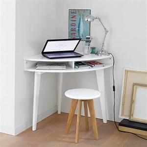 Petit Meuble D Angle : petit bureau gain de place 25 mod les pour votre ordinateur joli place ~ Preciouscoupons.com Idées de Décoration