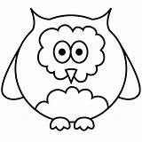 Coloring Pages Simple Owl Easy Illustration Animals Outlined Colouring Vector Birthday Kidspressmagazine Cupcake Kid Cake Bestcoloringpagesforkids Template sketch template
