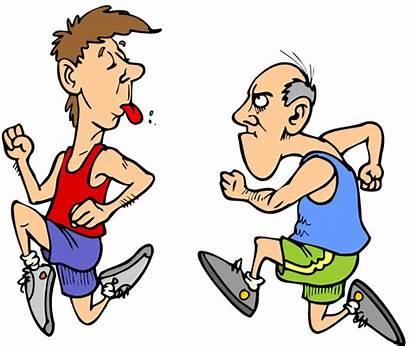 Slow Running Cartoon Clipart Runner Fast Clip