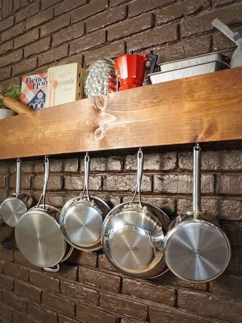 hanging pots  pans  decorating  kitchen sortrachen
