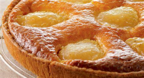 oeuf cuisine une tarte aux poires et à la frangipane exquise
