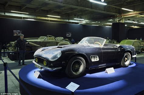 Ferrari is also one of (if not the) most popular sports car manufacturer in the world. Ferrari found rusting in French barn sold for $23 million at auction sale | Daily Mail Online