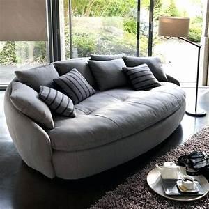 Sofa Runde Form : modern comfortable couch large size of century modern ~ Lateststills.com Haus und Dekorationen