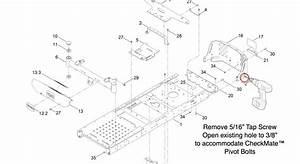 Checkmate U2122 Lawn Striper For Toro Timecutter Ss
