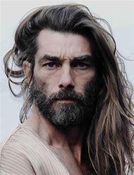 Man with Beard and Long Hair