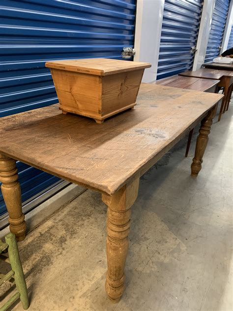 Kmart has coffee tables in different finishes and designs. Primitive side table value