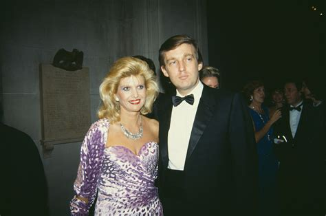 ivana trump donald melania ivanka wife gala met married many trumps times 1985 marriage magnate estate american been york ages