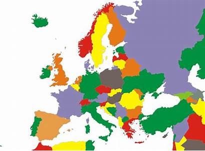 Europe Map Clipart Political Maps European Restored