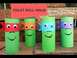 Kid Crafts With Toilet Paper Rolls