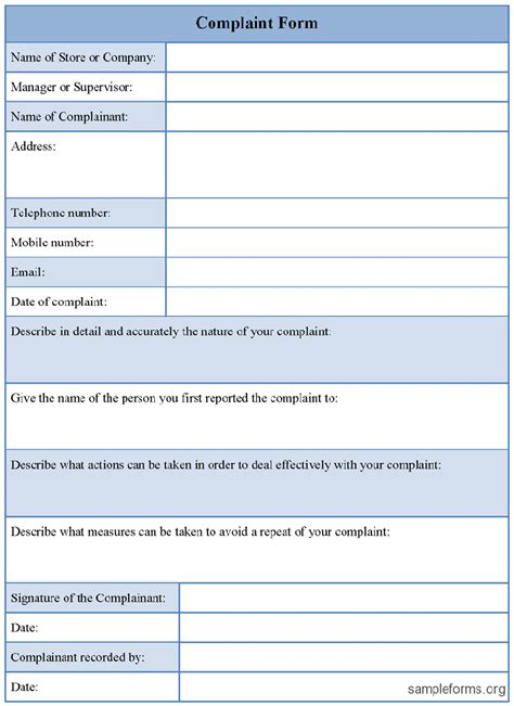 free customer complaint form excel template about projects to try customer complaints