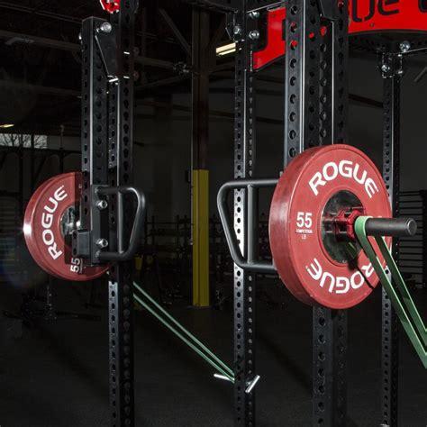 rogue monster lever arms power rack attachment squat rack home gym design rack