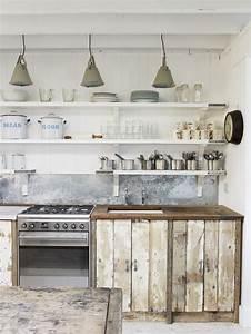 Pinterest Cuisine : 26 kitchen open shelves ideas decoholic ~ Carolinahurricanesstore.com Idées de Décoration