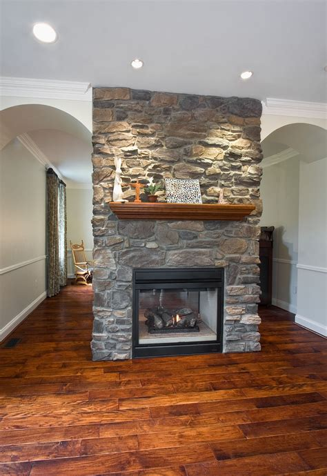 2 Sided Fireplace Fireplaces Carleton Refrigeration